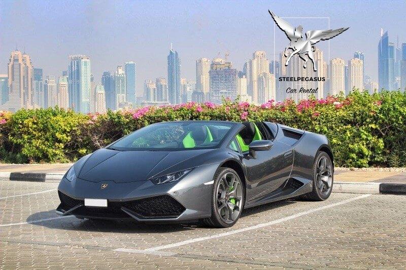 Lamborghini Huracan spider grey