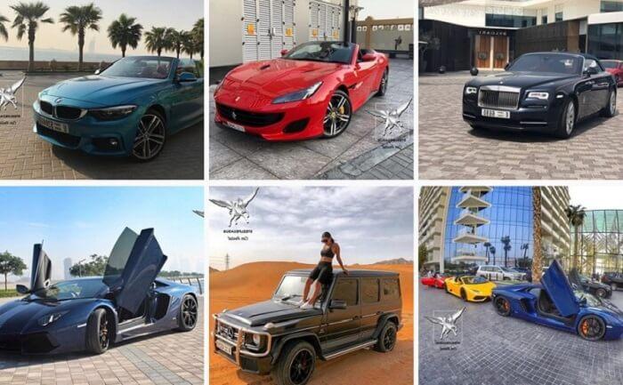 Аренда элитных авто в Дубае