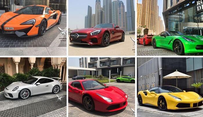 Аренда спорткаров в Дубае