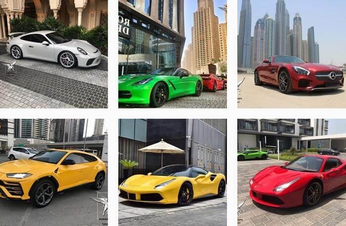 Аренда авто в Дубае по российским правам