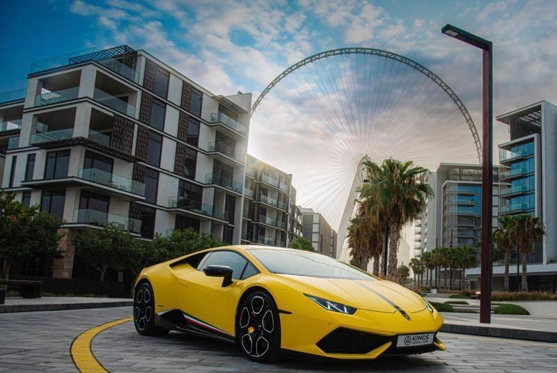 Lamborghini Huracan  Yellow